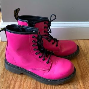 Girls Doc Martens Delaney Boots size 3